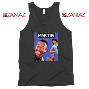 Martin 90s Sitcom Black Tank Top
