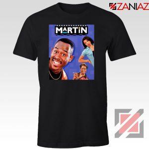 Martin 90s Sitcom Black Tshirt
