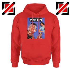 Martin 90s Sitcom Red Hoodie