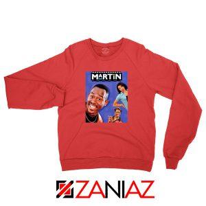 Martin 90s Sitcom Red Sweatshirt