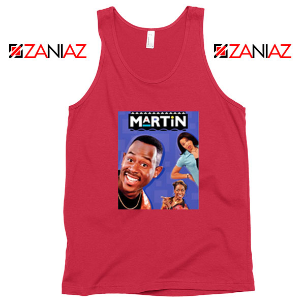 Martin 90s Sitcom Red Tank Top