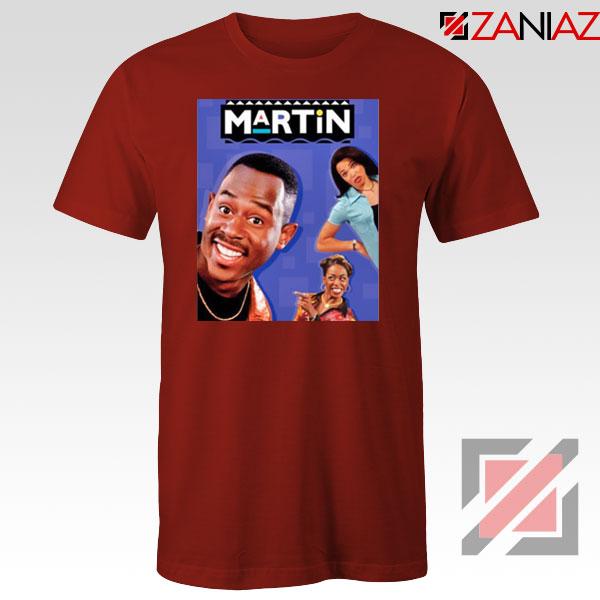 Martin 90s Sitcom Red Tshirt