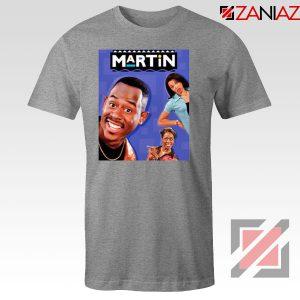 Martin 90s Sitcom Sport Grey Tshirt