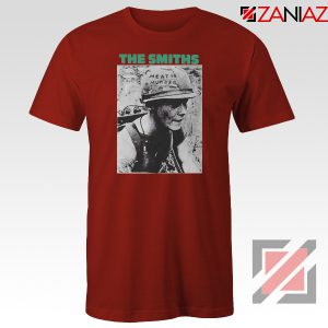 Meat Is Murder Album The Smiths Red Tshirt