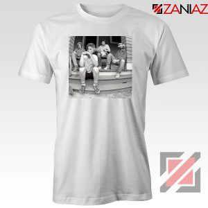 Minor Threat Band Golden Girls White T Shirt