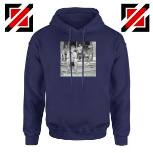 Minor Threat Parody Golden Girls Navy Blue Hoodie