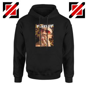 Play Boy Bad Bunny Black Hoodie