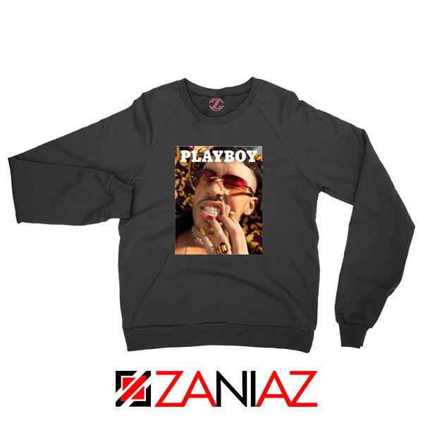 Play Boy Bad Bunny Black Sweatshirt