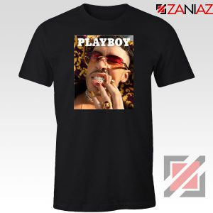Play Boy Bad Bunny Black Tshirt