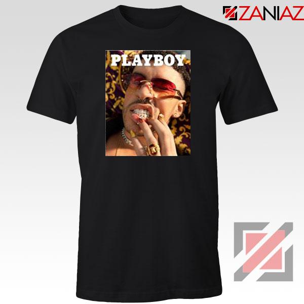 Play Boy Bad Bunny Black Tshirt