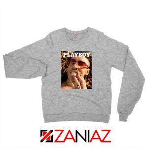 Play Boy Bad Bunny Sport Grey Sweatshirt