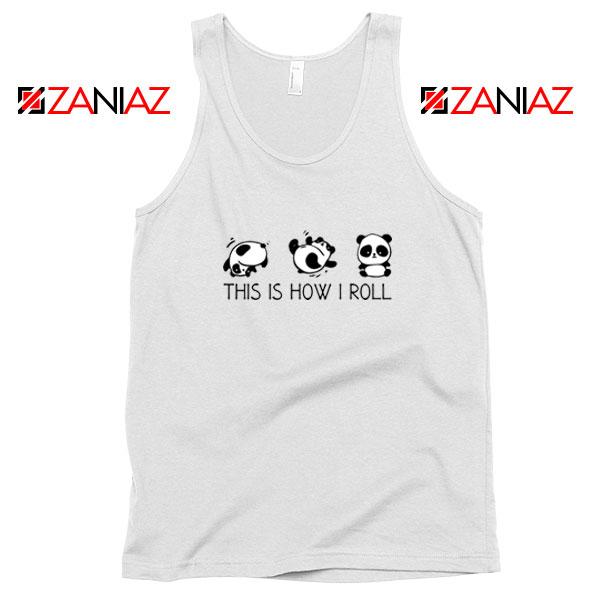 Roll Panda Animal Tank Top