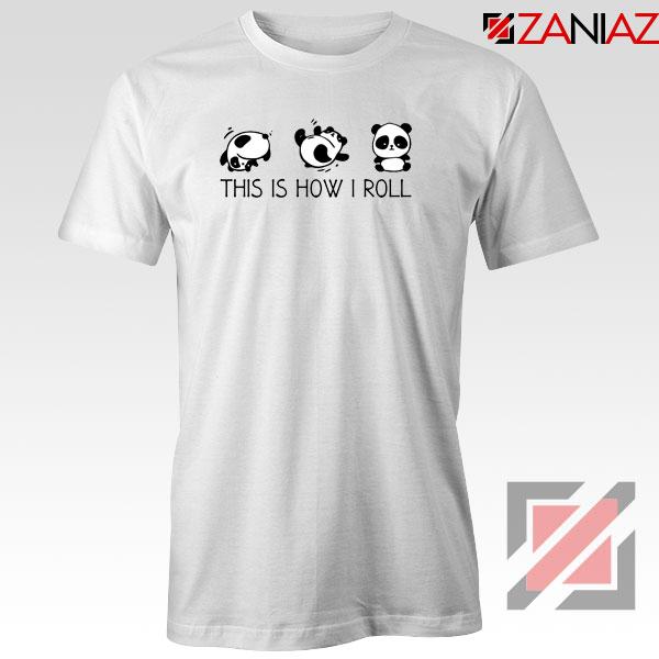 Roll Panda Animal Tshirt