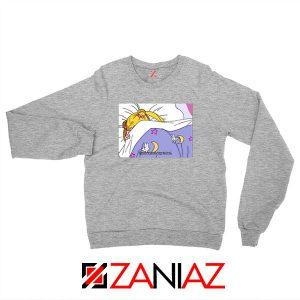 Sailor Moon Stay In Bed New Sport Grey Sweatshirt