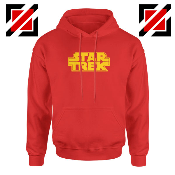Star Trek Logo Star Wars Best Red Hoodie