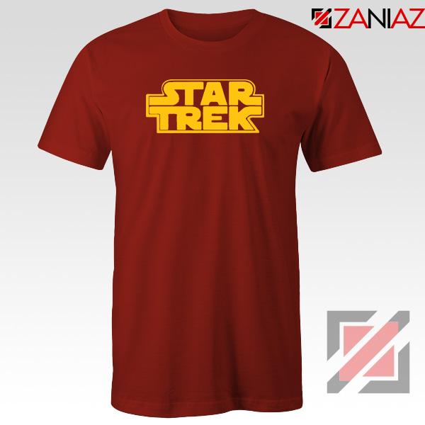 Star Trek Logo Star Wars Best Red Tshirt