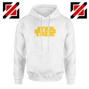 Star Trek Logo Star Wars Best White Hoodie