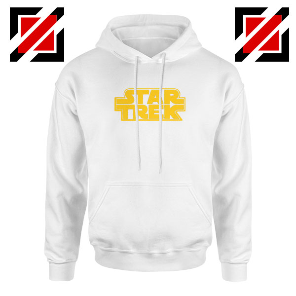 Star Trek Logo Star Wars Best White Hoodie