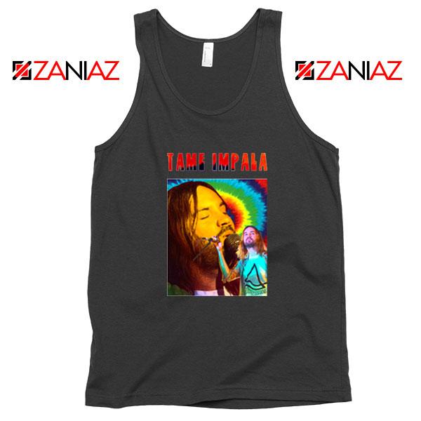 Tame Impala Music Project Black Tank Top