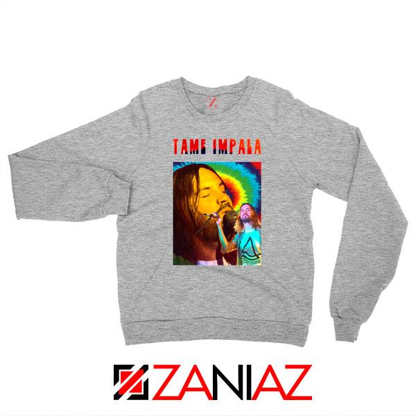 Tame Impala Music Sport Grey Sweatshirt
