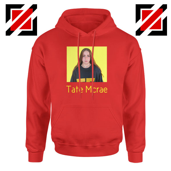 Tate Mcrae Graphic Red Hoodies