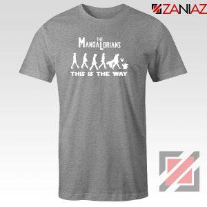 The Mandalorian The Beatles Sport Grey Tshirt