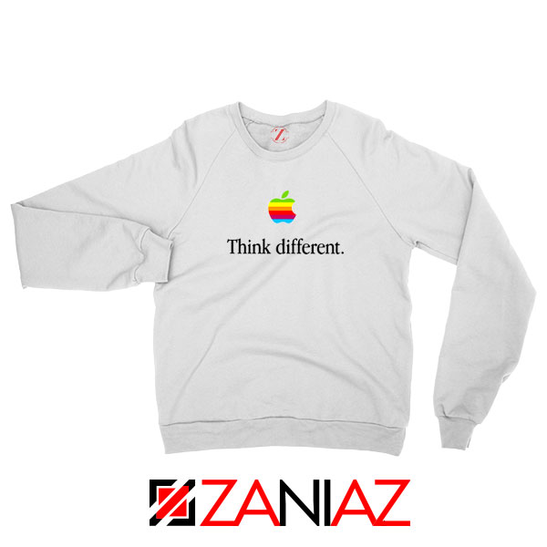 Think Different Apple Slogan Sweatshirt