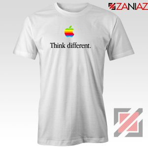 Think Different Apple Slogan Tshirt