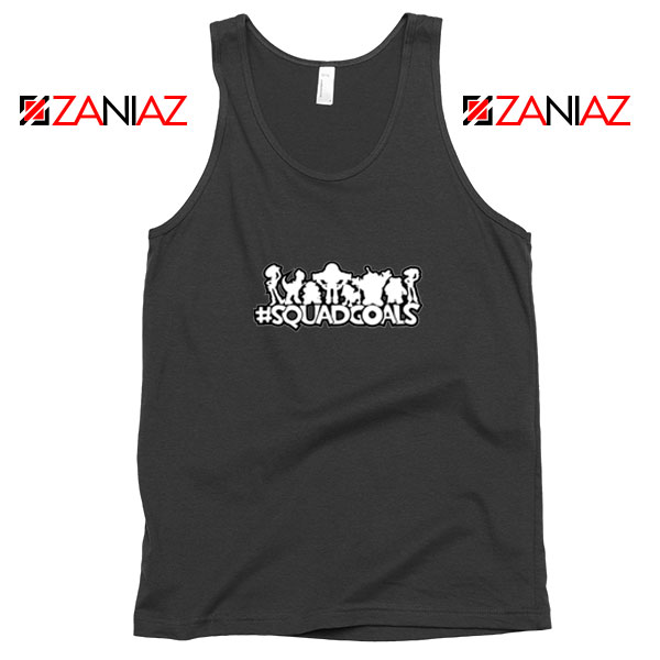 Toy Story Squad Goals Black Tank Top
