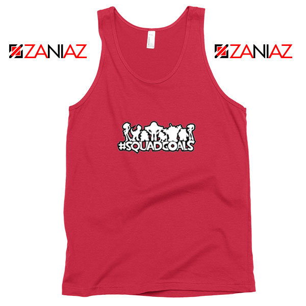 Toy Story Squad Goals Red Tank Top