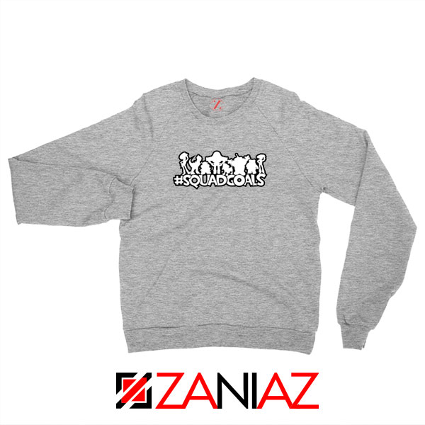 Toy Story Squad Goals Sport Grey Sweatshirt