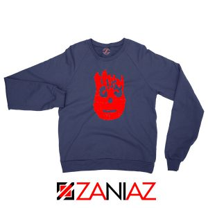 Wilson Cast Away Film Best Navy Blue Sweatshirt