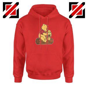 Winnie The Pooh Cartoon Movie Red Hoodie