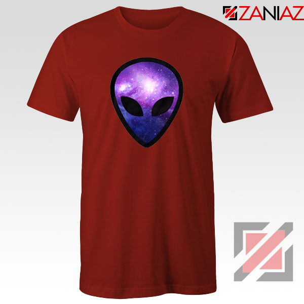 Alien Horror The Universe Red Tshirt