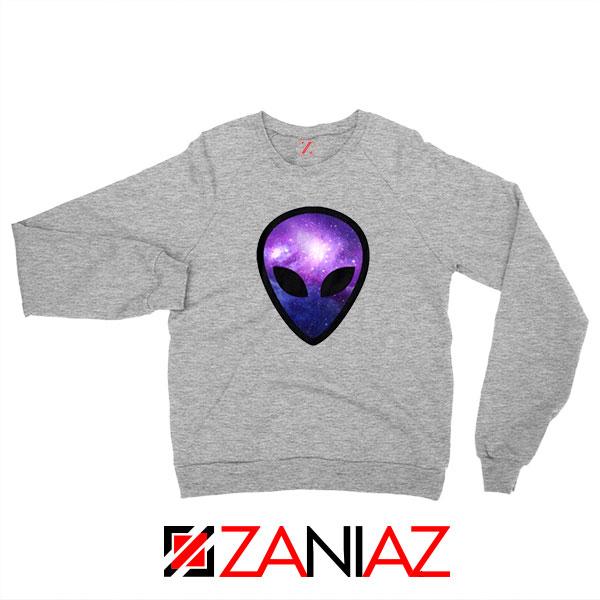 Alien Horror The Universe Sport Grey Sweatshirt