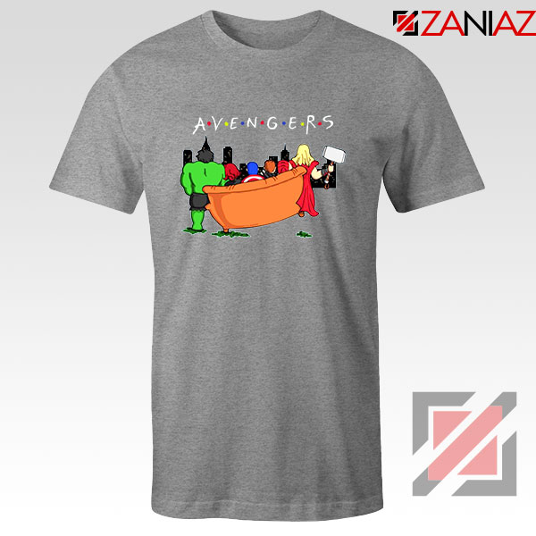 Avengers 90s Friends New Tshirt