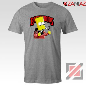 Backwoods Bart Simpson Best Sport Grey Tshirt