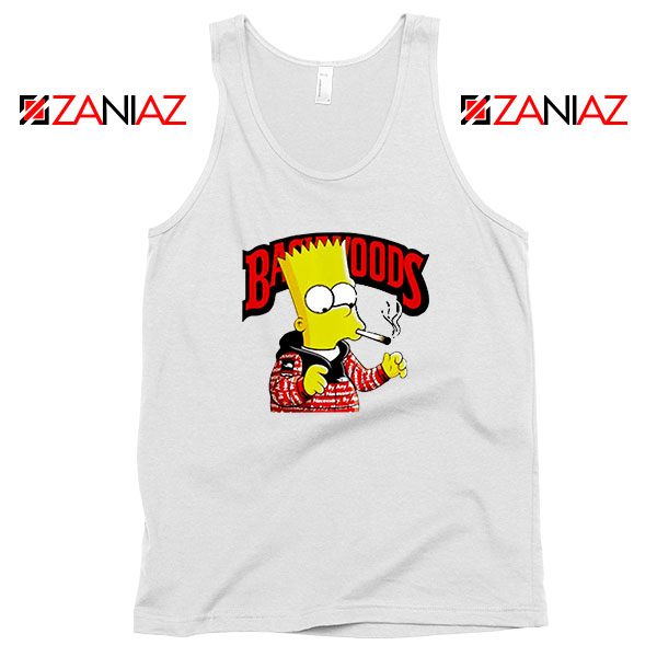 Backwoods Bart Simpson Best Tank Top