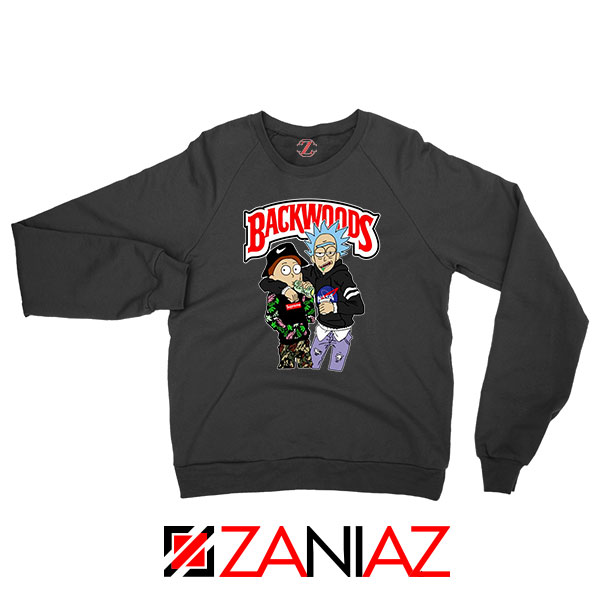 Backwoods Rick and Morty Sweatshirt