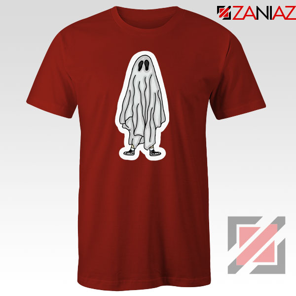 Bed Sheet Ghost 2021 Red Tshirt