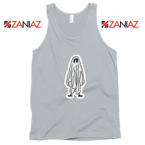 Bed Sheet Ghost Best Sport Grey Tank Top