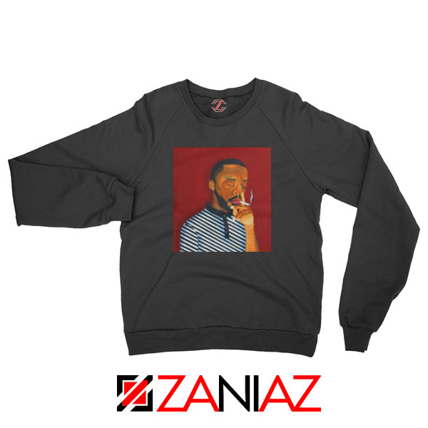 Brent Faiyaz A M Paradox Black Sweatshirt
