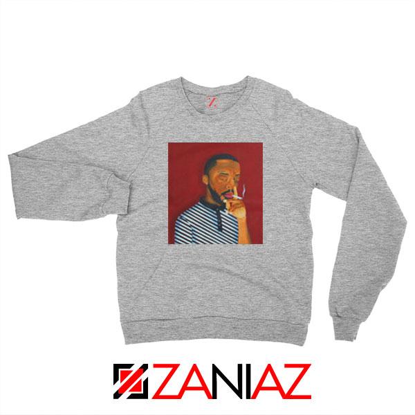 Brent Faiyaz A M Paradox Sport Grey Sweatshirt