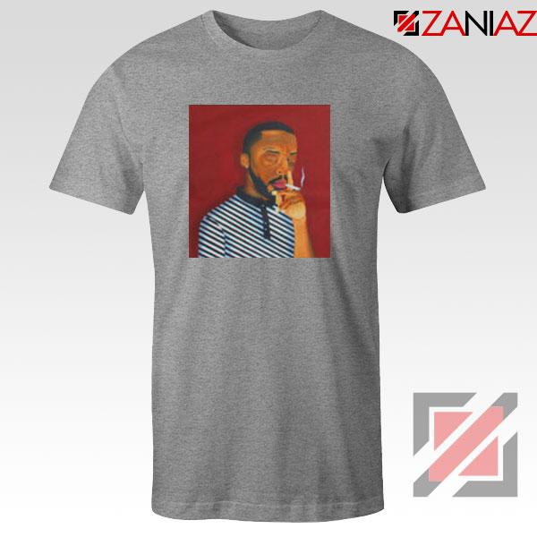 Brent Faiyaz A M Paradox Sport Grey Tshirt