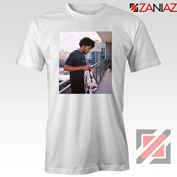 Brent Faiyaz Balcony Best White Tshirt
