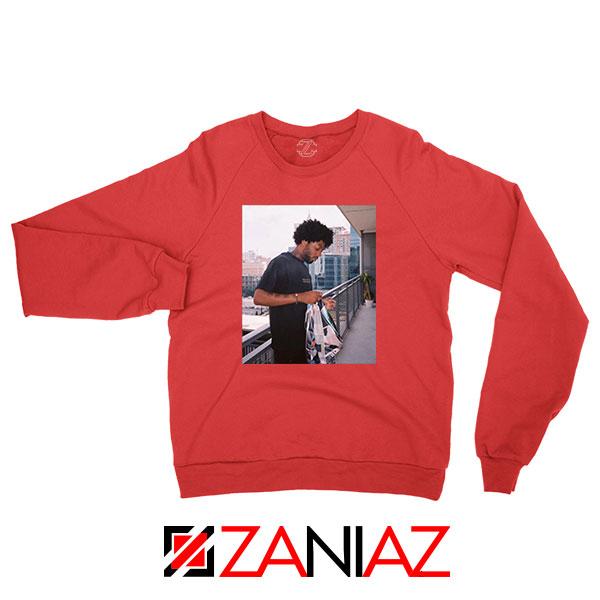 Brent Faiyaz Balcony New Red Sweatshirt