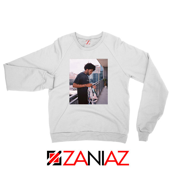 Brent Faiyaz Balcony New White Sweatshirt