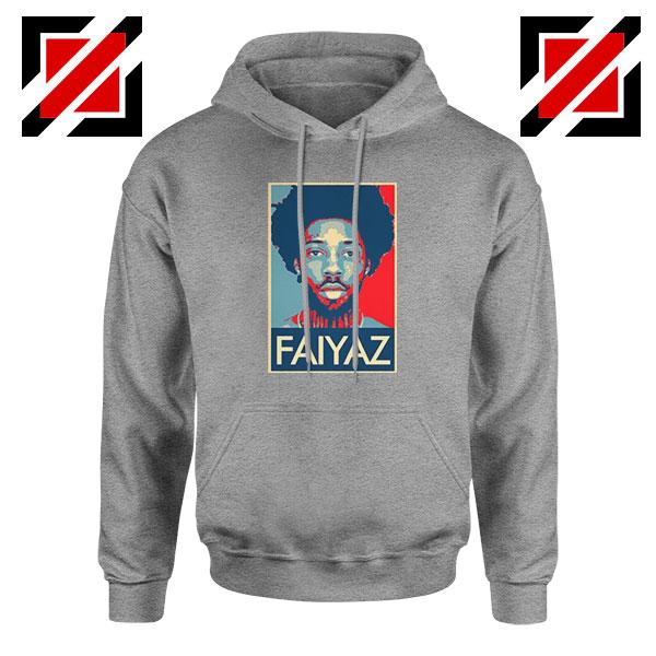Brent Faiyaz Poster Best Design Sport Grey Hoodie