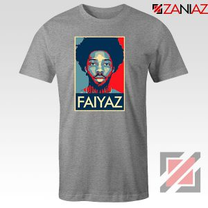 Brent Faiyaz Poster Design Sport Grey Tshirt