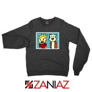 Calvin and Hobbes Cartoon Sweatshirt